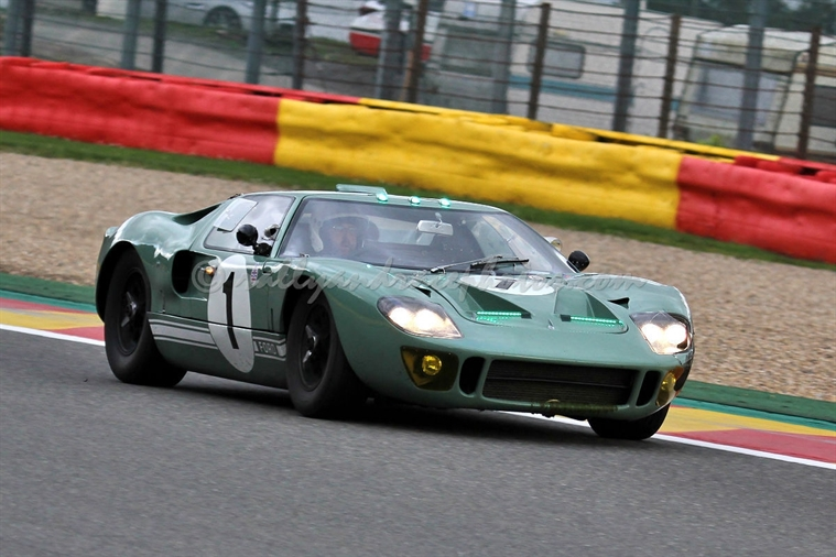 Wright / Gans / Wolfe, Ford GT40